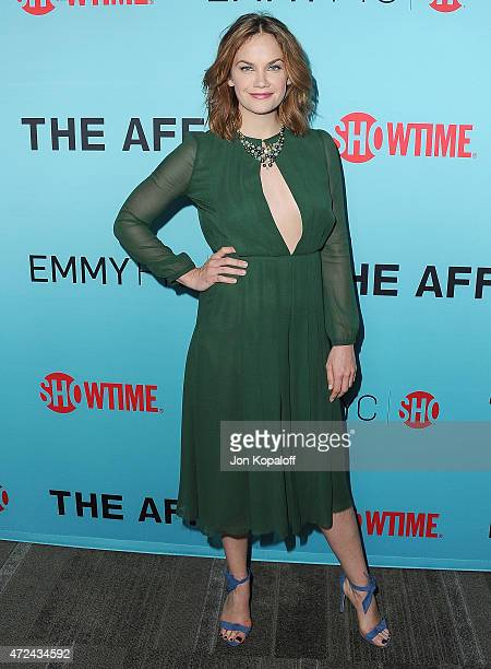 Actress Ruth Wilson arrives at the screening of Showtime's 'The Affair' at Samuel Goldwyn Theater on May 6 2015 in Beverly Hills California