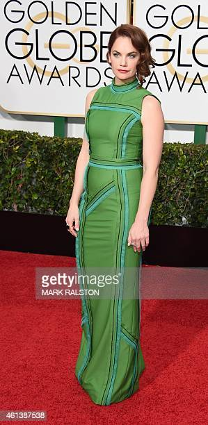 Actress Ruth Wilson arrives on the red carpet for the 72nd Annual Golden Globe Awards January 11 2015 at the Beverly Hilton Hotel in Beverly Hills...