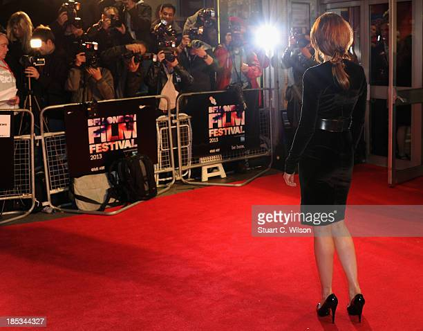 Actress Ruth Wilson attends a screening of 'Locke' during the 57th BFI London Film Festival at Odeon West End on October 18 2013 in London England