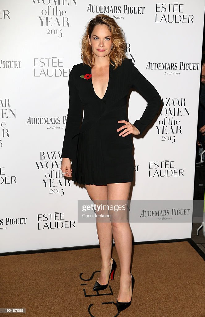Actress <a gi-track='captionPersonalityLinkClicked' href=/galleries/search?phrase=Ruth+Wilson&family=editorial&specificpeople=3111655 ng-click='$event.stopPropagation()'>Ruth Wilson</a> attends Harper's Bazaar Women of the Year Awards at Claridge's Hotel on November 3, 2015 in London, England.