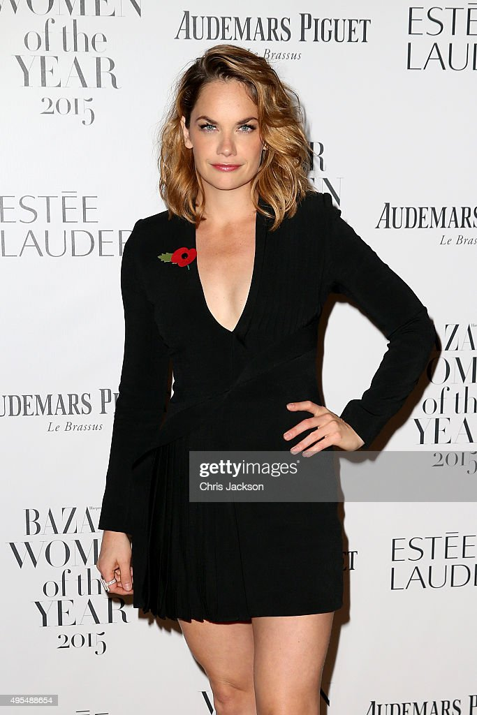 Actress <a gi-track='captionPersonalityLinkClicked' href=/galleries/search?phrase=Ruth+Wilson+-+Actress&family=editorial&specificpeople=3111655 ng-click='$event.stopPropagation()'>Ruth Wilson</a> attends Harper's Bazaar Women of the Year Awards at Claridge's Hotel on November 3, 2015 in London, England.