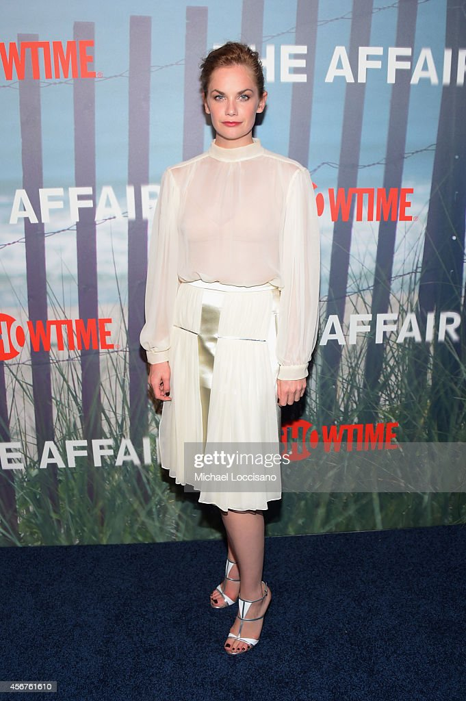 Actress <a gi-track='captionPersonalityLinkClicked' href=/galleries/search?phrase=Ruth+Wilson+-+Actress&family=editorial&specificpeople=3111655 ng-click='$event.stopPropagation()'>Ruth Wilson</a> attends premiere of SHOWTIME drama 'The Affair' held at North River Lobster Company on October 6, 2014 in New York City.