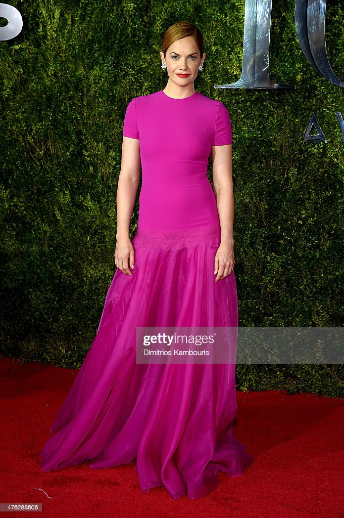Actress <a gi-track='captionPersonalityLinkClicked' href=/galleries/search?phrase=Ruth+Wilson&family=editorial&specificpeople=3111655 ng-click='$event.stopPropagation()'>Ruth Wilson</a> attends the 2015 Tony Awards at Radio City Music Hall on June 7, 2015 in New York City.
