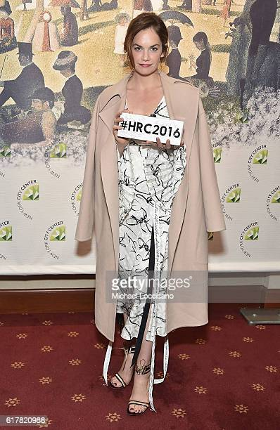 Actress Ruth Wilson attends the 2016 New York City Center Gala at New York City Center on October 24 2016 in New York City