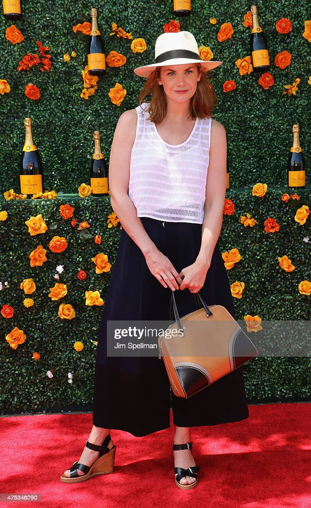 Actress <a gi-track='captionPersonalityLinkClicked' href=/galleries/search?phrase=Ruth+Wilson+-+Actress&family=editorial&specificpeople=3111655 ng-click='$event.stopPropagation()'>Ruth Wilson</a> attends the 8th Annual Veuve Clicquot Polo Classic at Liberty State Park on May 30, 2015 in Jersey City, New Jersey.