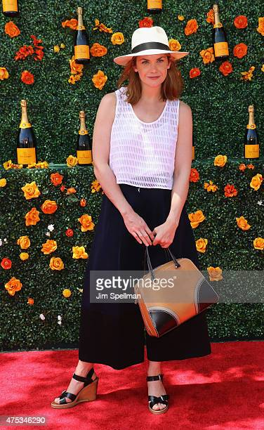 Actress Ruth Wilson attends the 8th Annual Veuve Clicquot Polo Classic at Liberty State Park on May 30 2015 in Jersey City New Jersey