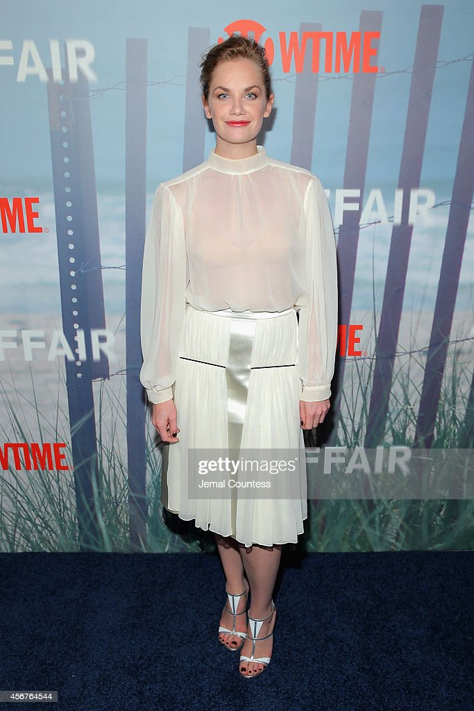 Actress <a gi-track='captionPersonalityLinkClicked' href=/galleries/search?phrase=Ruth+Wilson+-+Actress&family=editorial&specificpeople=3111655 ng-click='$event.stopPropagation()'>Ruth Wilson</a> attends 'The Affair' New York series premiere on October 6, 2014 in New York City.