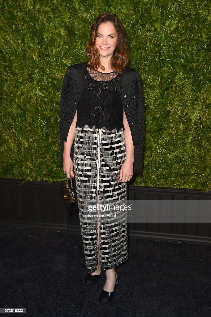 Actress Ruth Wilson attends the CHANEL Tribeca Film Festival Artists Dinner at Balthazar on April 24, 2017 in New York City.