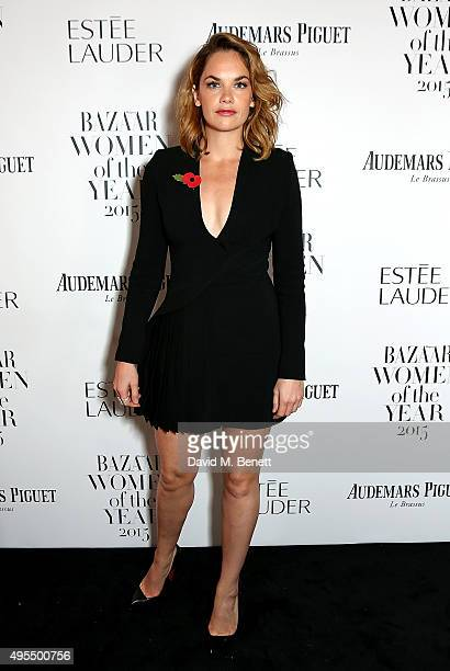 Actress Ruth Wilson attends the Harper's Bazaar Women of the Year Awards 2015 at Claridges Hotel on November 3 2015 in London England
