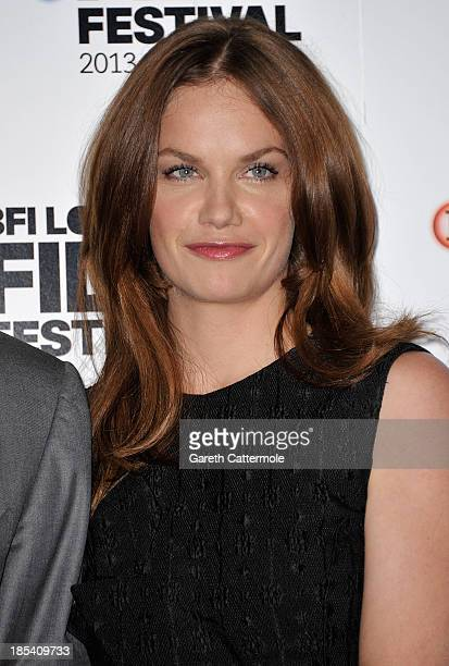 Actress Ruth Wilson attends the photocall for 'Saving Mr Banks' during the 57th BFI London Film Festival at The Dorchester on October 20 2013 in...