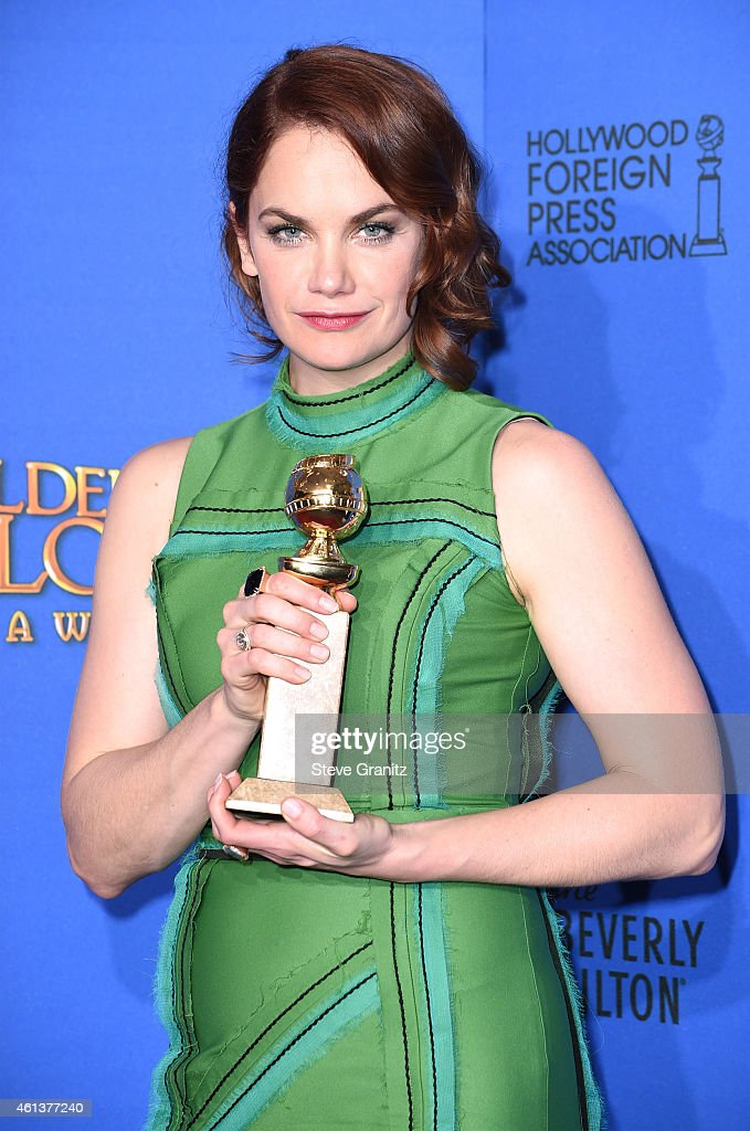 Actress <a gi-track='captionPersonalityLinkClicked' href=/galleries/search?phrase=Ruth+Wilson+-+Actress&family=editorial&specificpeople=3111655 ng-click='$event.stopPropagation()'>Ruth Wilson</a>, winner of Best Actress in a Television Series - Drama for 'The Affair,' poses in the press room during the 72nd Annual Golden Globe Awards at The Beverly Hilton Hotel on January 11, 2015 in Beverly Hills, California.