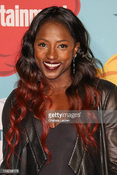 Actress Rutina Wesley arrives at Entertainment Weekly's annual ComicCon celebration at Float at Hard Rock Hotel San Diego on July 20 2013 in San...