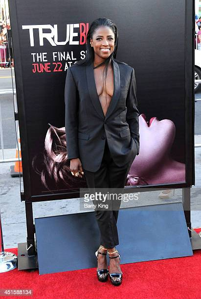 Actress Rutina Wesley arrives at HBO's 'True Blood' Final Season Premiere on June 17 2014 at TCL Chinese Theatre in Hollywood California