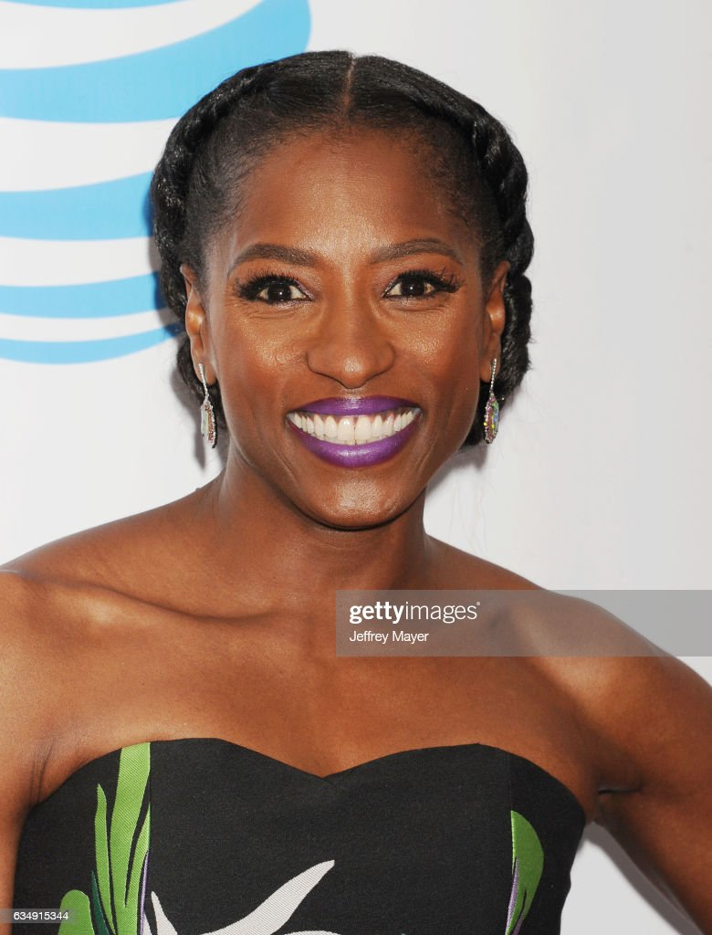 Actress Rutina Wesley arrives at the 48th NAACP Image Awards at Pasadena Civic Auditorium on February 11, 2017 in Pasadena, California.