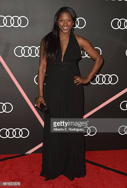 Actress Rutina Wesley arrives to Audi Celebrates Golden Globes Weekend at Cecconi's Restaurant on January 9 2014 in Los Angeles California