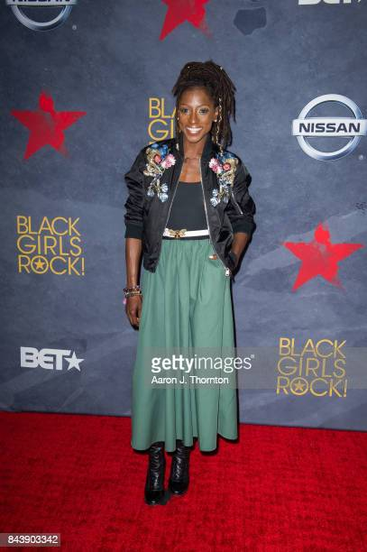 Actress Rutina Wesley attends Black Girls Rock at New Jersey Performing Arts Center on August 5 2017 in Newark New Jersey
