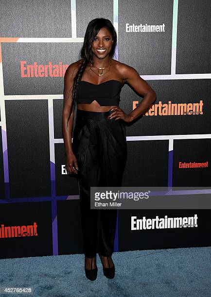 Actress Rutina Wesley attends Entertainment Weekly's annual ComicCon celebration at Float at Hard Rock Hotel San Diego on July 26 2014 in San Diego...