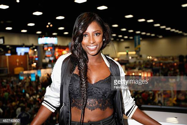 Actress Rutina Wesley attends HBO's 'True Blood' cast autograph signing during ComicCon 2014 on July 26 2014 in San Diego California