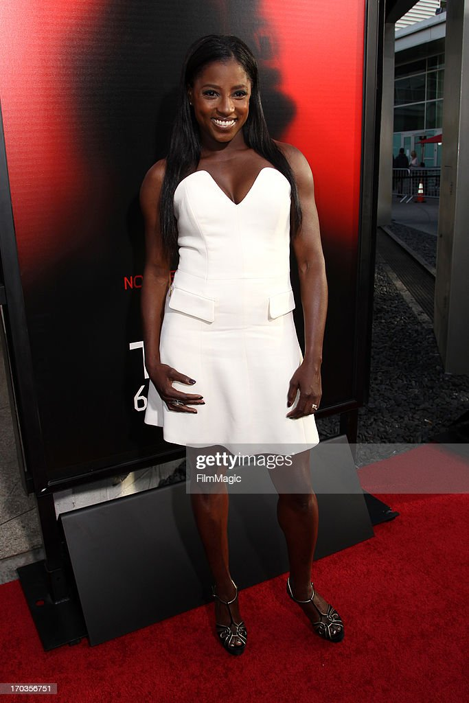 Actress <a gi-track='captionPersonalityLinkClicked' href=/galleries/search?phrase=Rutina+Wesley&family=editorial&specificpeople=4052226 ng-click='$event.stopPropagation()'>Rutina Wesley</a> attends HBO's 'True Blood' season 6 premiere at ArcLight Cinemas Cinerama Dome on June 11, 2013 in Hollywood, California.