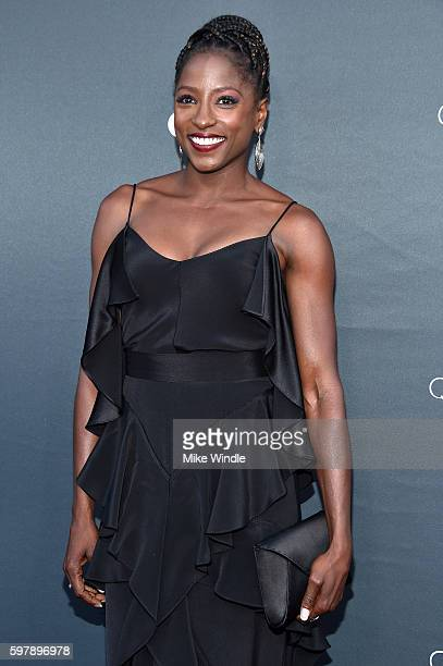 "Actress Rutina Wesley attends OWN Oprah Winfrey Network's ""Queen Sugar"" premiere at the Warner Bros Studio Lot Steven J Ross Theater on August 29..."