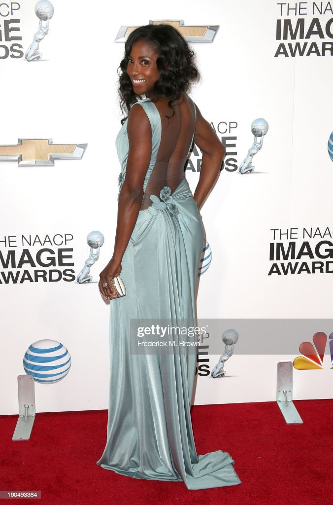 Actress Rutina Wesley attends the 44th NAACP Image Awards at The Shrine Auditorium on February 1, 2013 in Los Angeles, California.