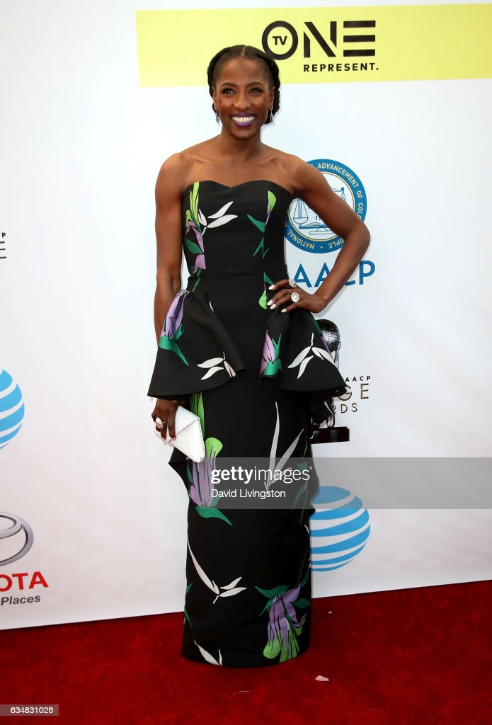 Actress Rutina Wesley attends the 48th NAACP Image Awards at Pasadena Civic Auditorium on February 11, 2017 in Pasadena, California.