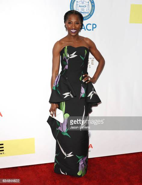 Actress Rutina Wesley attends the 48th NAACP Image Awards at Pasadena Civic Auditorium on February 11 2017 in Pasadena California