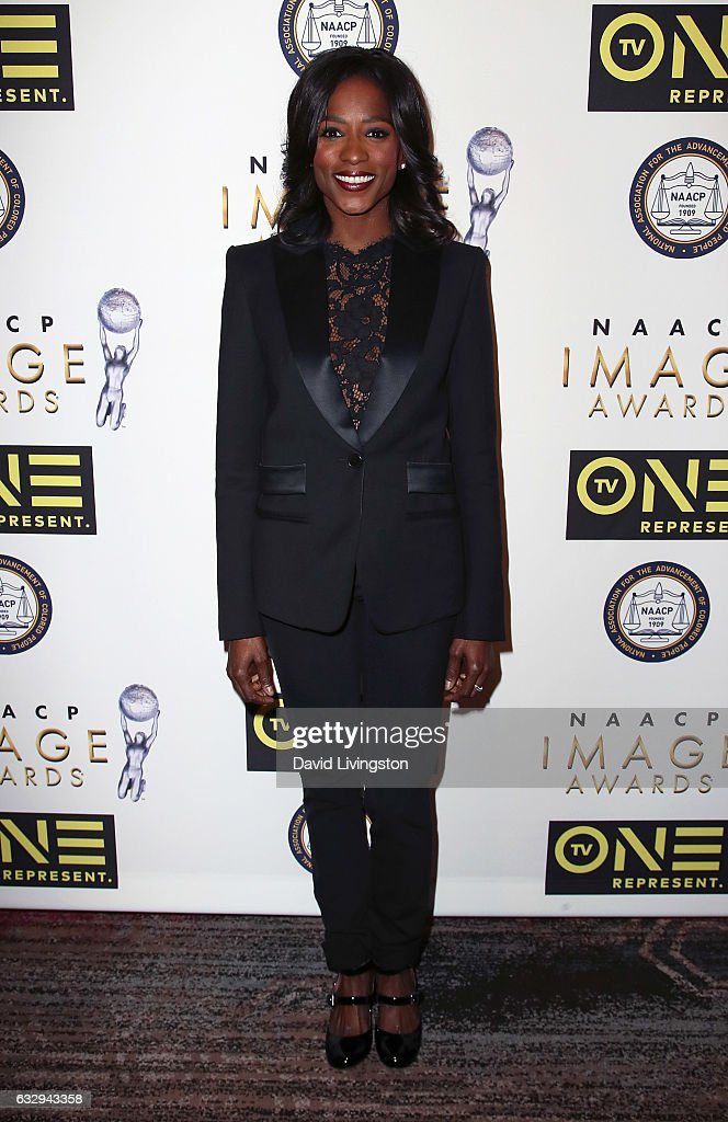 Actress Rutina Wesley attends the 48th NAACP Image Awards Nominees' Luncheon at Loews Hollywood Hotel on January 28, 2017 in Hollywood, California.