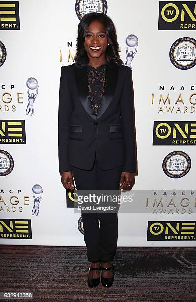 Actress Rutina Wesley attends the 48th NAACP Image Awards Nominees' Luncheon at Loews Hollywood Hotel on January 28 2017 in Hollywood California