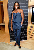 Actress Rutina Wesley attends the Danny Seo AmericaShare Party presented by Movado at L'Ermitage Beverly Hills Hotel on May 20 2014 in Beverly Hills...