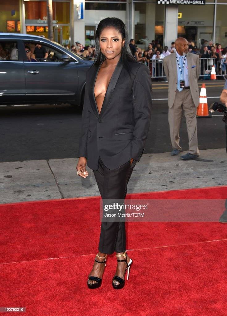 Actress <a gi-track='captionPersonalityLinkClicked' href=/galleries/search?phrase=Rutina+Wesley&family=editorial&specificpeople=4052226 ng-click='$event.stopPropagation()'>Rutina Wesley</a> attends the premiere of HBO's 'True Blood' season 7 and final season at TCL Chinese Theatre on June 17, 2014 in Hollywood, California.
