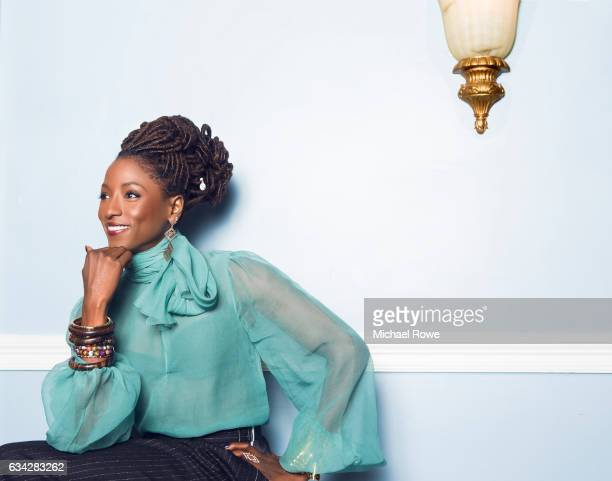 Actress Rutina Wesley from the cast of Queen Sugar is photographed for Essence Magazine on July 1 2016 in New Orleans Louisiana