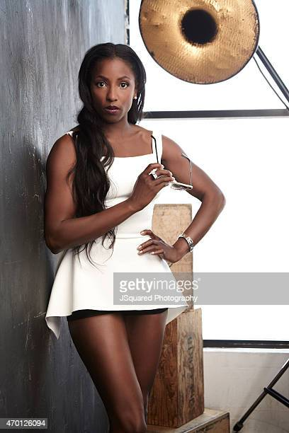 Actress Rutina Wesley is photographed for Glamaholic Magazine on April 9 2014 in Los Angeles California PUBLISHED IMAGE
