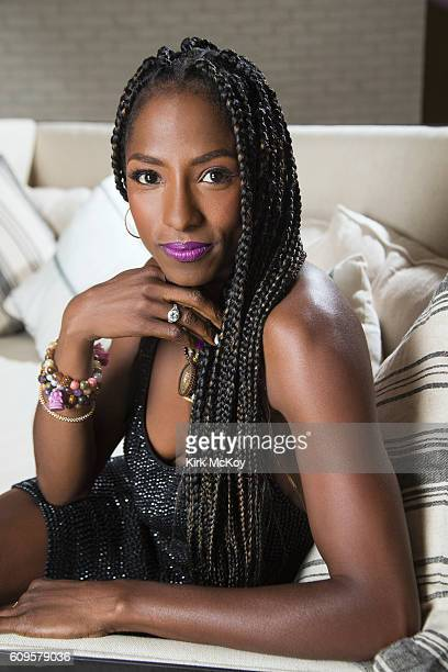 Actress Rutina Wesley is photographed for Los Angeles Times on August 25 2016 in Los Angeles California PUBLISHED IMAGE CREDIT MUST READ Kirk...