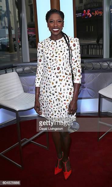 Actress Rutina Wesley visits Hollywood Today Live at W Hollywood on September 13 2016 in Hollywood California