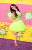 Actress Ryan Newman arrives at Nickelodeon's 26th Annual Kids' Choice Awards at USC Galen Center on March 23 2013 in Los Angeles California