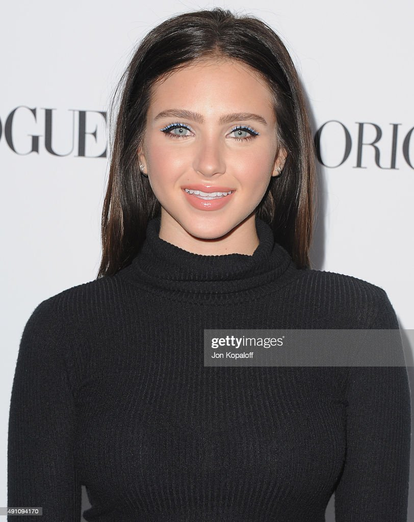 Actress Ryan Newman arrives at Teen Vogue's 13th Annual Young Hollywood Issue Launch Party on October 2 2015 in Los Angeles California