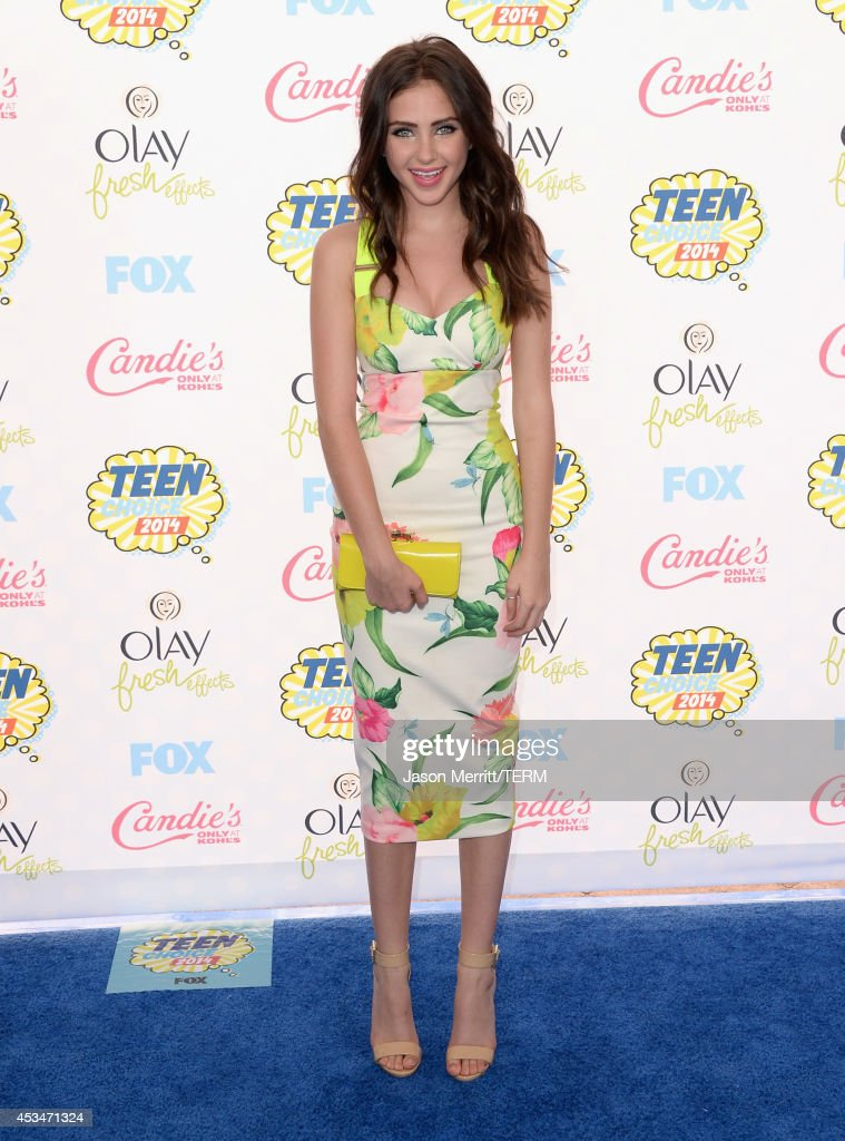 Actress Ryan Newman attends FOX's 2014 Teen Choice Awards at The Shrine Auditorium on August 10, 2014 in Los Angeles, California.