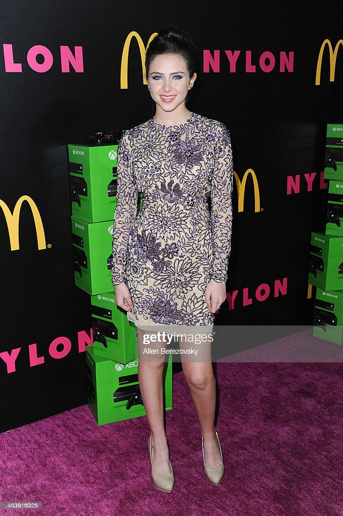 Actress Ryan Newman attends NYLON Magazine's December Issue Celebration featuring cover star Demi Lovato at Smashbox West Hollywood on December 5, 2013 in West Hollywood, California.
