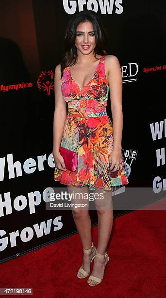 Actress Ryan Newman attends the premiere of Roadside Attractions' Godspeed Pictures' 'Where Hope Grows' at ArcLight Cinemas on May 4 2015 in...