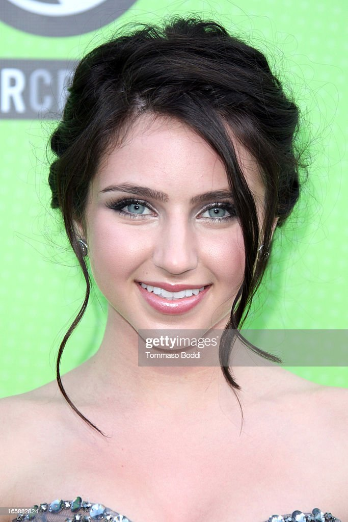 Actress Ryan Newman attends the Skip1.org's 'Skip And Donate' gala event held at The Lot on April 6, 2013 in West Hollywood, California.