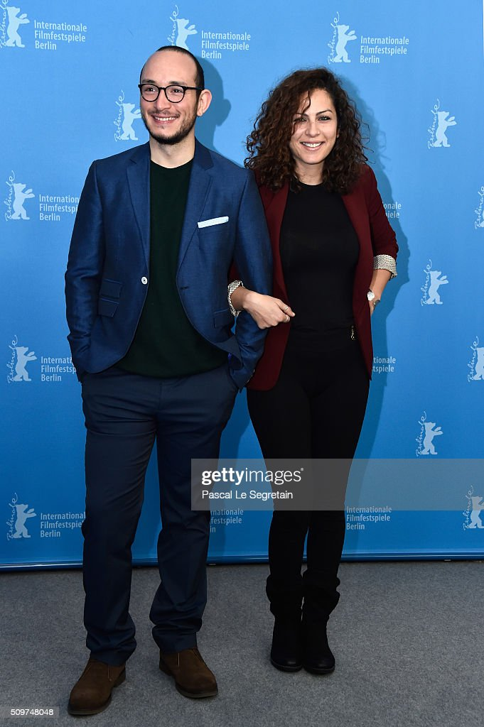 Actress Rym Ben Messaoud and actor Majd Mastoura attend the 'Inhebbek Hedi' photo call during the 66th Berlinale International Film Festival Berlin at Grand Hyatt Hotel on February 12, 2016 in Berlin, Germany.