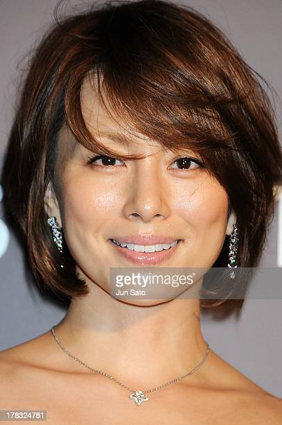 Actress Ryoko Yonekura attends Louis Vuitton 'Timeless Muses' exhibition at the Tokyo Station Hotel on August 29 2013 in Tokyo Japan