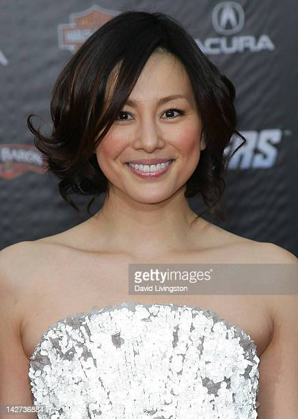 Actress Ryoko Yonekura attends the premiere of Marvel Studios' 'Marvel's The Avengers' at the El Capitan Theatre on April 11 2012 in Hollywood...