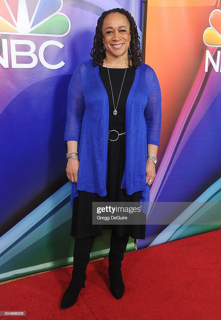 Actress S. Epatha Merkerson arrives at the 2016 NBCUniversal Winter TCA Press Tour at Langham Hotel on January 13, 2016 in Pasadena, California.