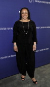 Actress S Epatha Merkerson attends The Paley Center for Media WE tv's presentation of 'On the Beat The Evolution of the Crime Drama Heroine' at The...