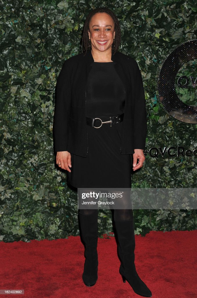 Actress S Epatha Merkerson attends the QVC Red Carpet Style Party held at Four Seasons Hotel Los Angeles at Beverly Hills on February 22 2013 in...