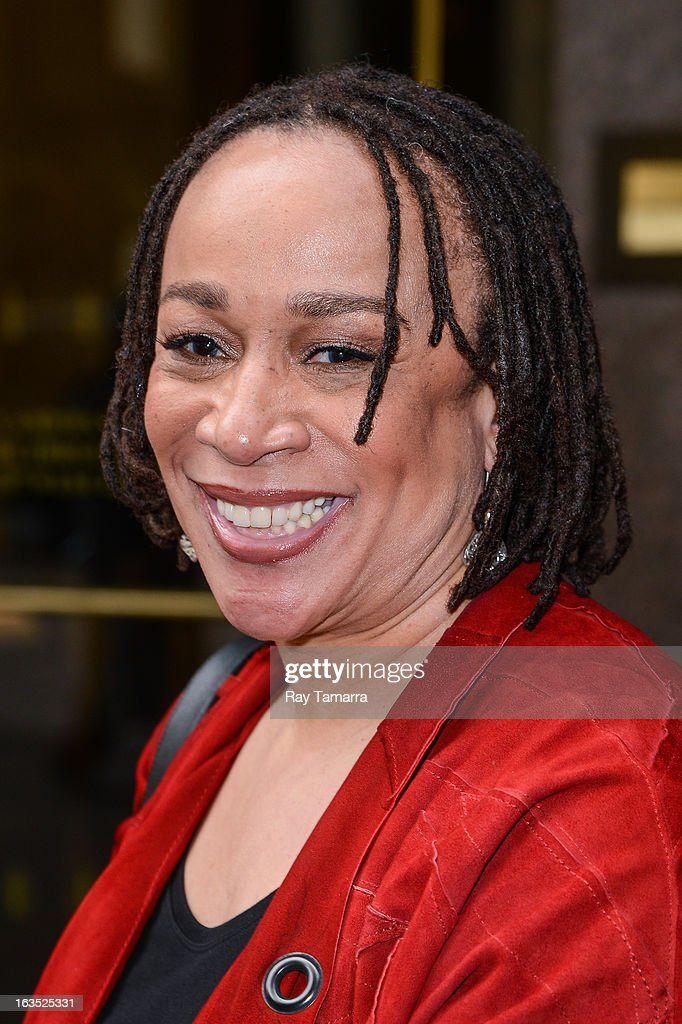 Actress S. Epatha Merkerson leaves the Sirius XM Studios on March 11, 2013 in New York City.