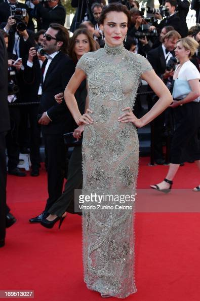 Actress Saadet Aksoy attends the 'Zulu' Premiere and Closing Ceremony during the 66th Annual Cannes Film Festival at the Palais des Festivals on May...