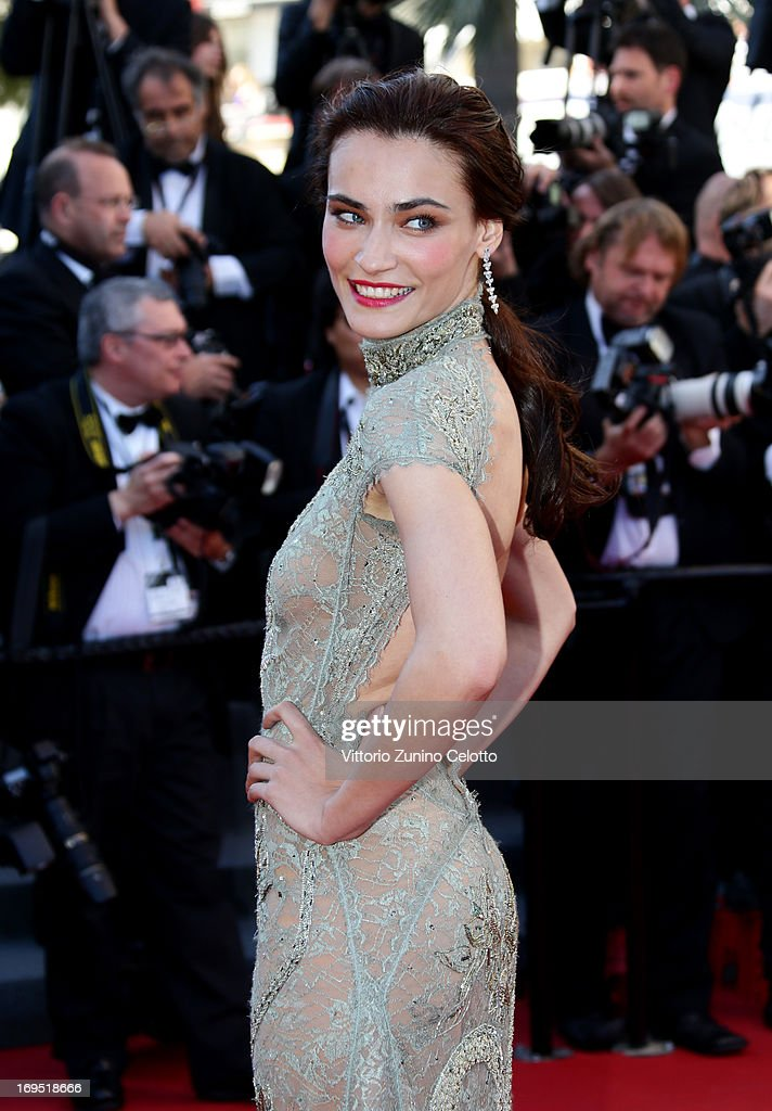 Actress Saadet Aksoy attends the 'Zulu' Premiere and Closing Ceremony during the 66th Annual Cannes Film Festival at the Palais des Festivals on May 26, 2013 in Cannes, France.